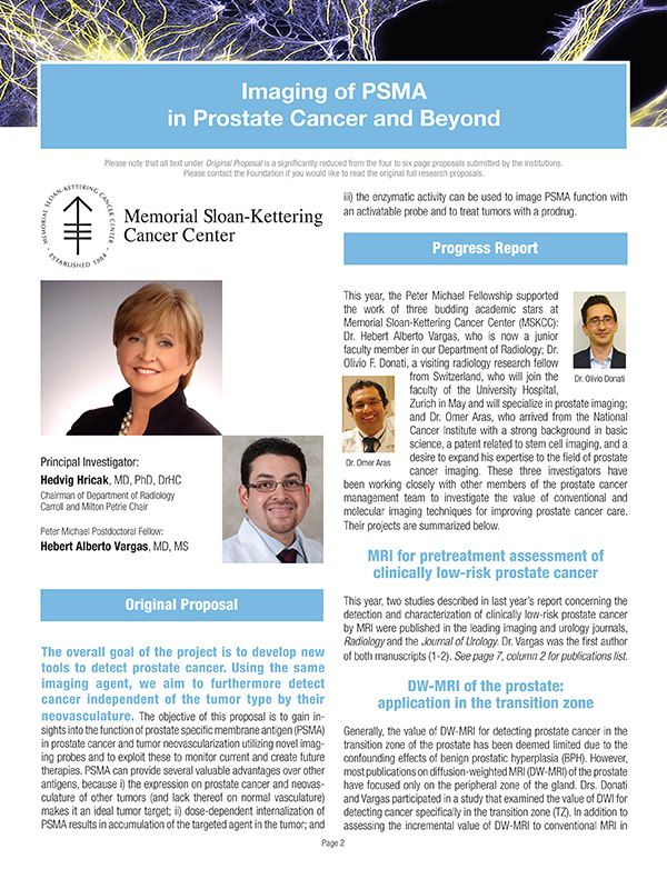 2012 Imaging of PSMA in Prostate Cancer and Beyond