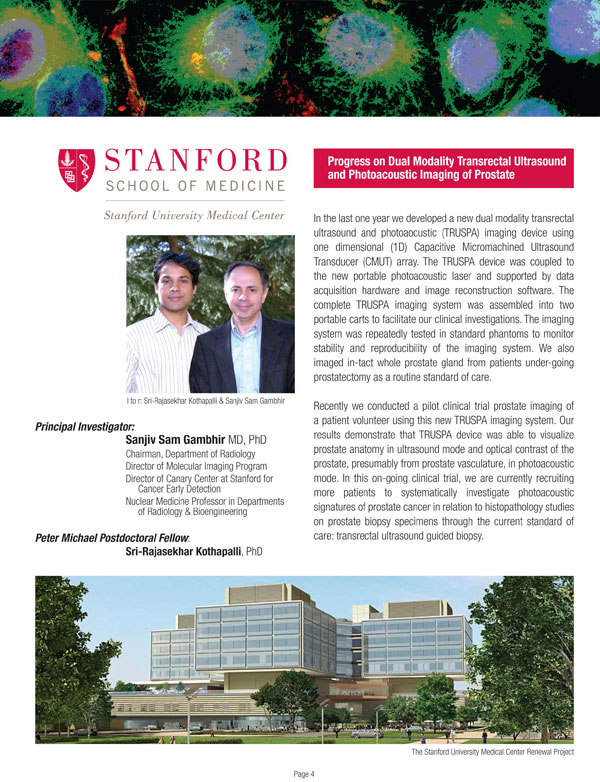 2013 Stanfold School Of Medicine
